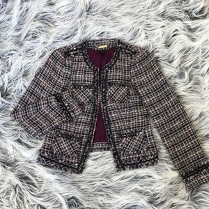 Tweed WHBM Blazer-Sz 4
